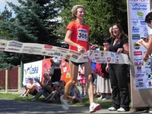 Vítězka Miřejovického půlmaratonu 2010